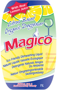 Environmentally Friendly Dishwashing Liquid