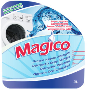 Eco Friendly Liquid Laundry Detergent